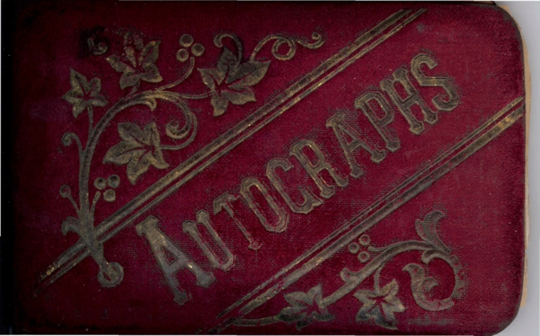 Lizzie Norton Autograph book copy 2