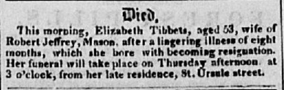 Quebec Mercury April 12, 1853