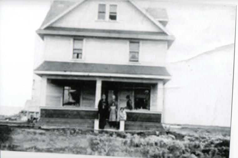 The  Harrop home in Balcarres, Saskatchewan. c1915