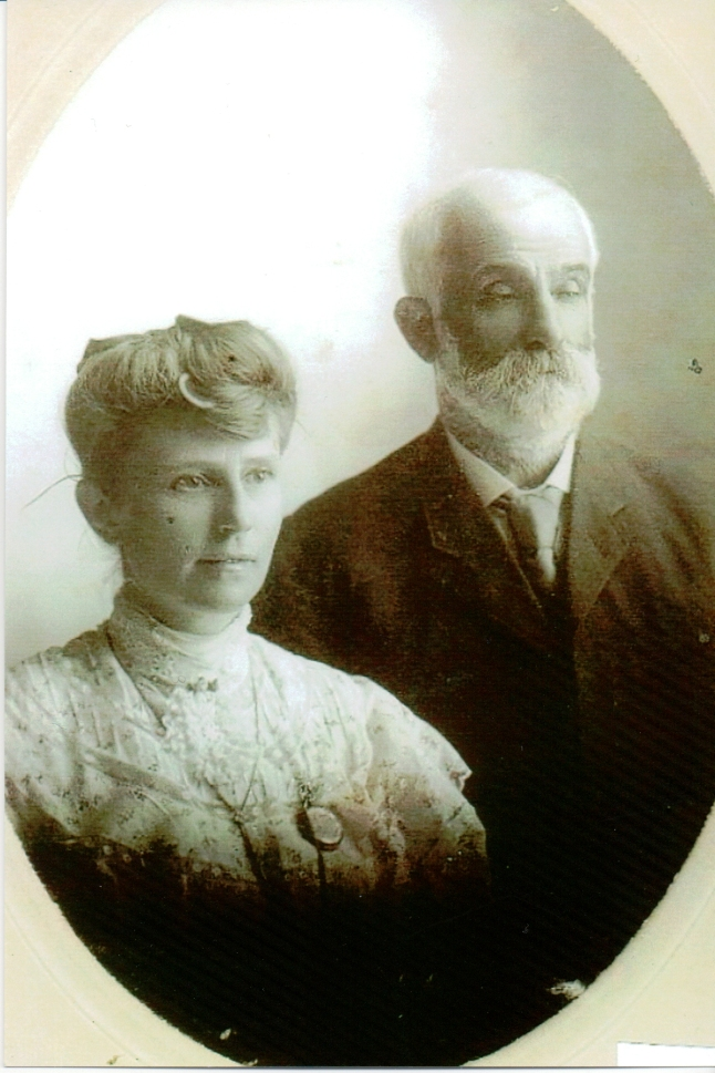 Rachel Hodgins & William Harrop c.1907