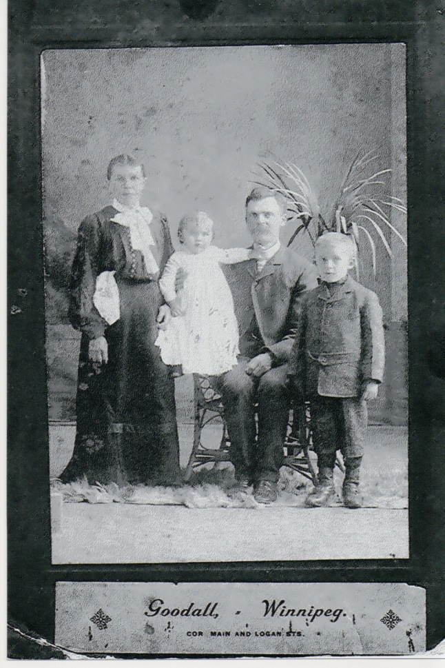 GREBER, Edward & Leokadia with boys