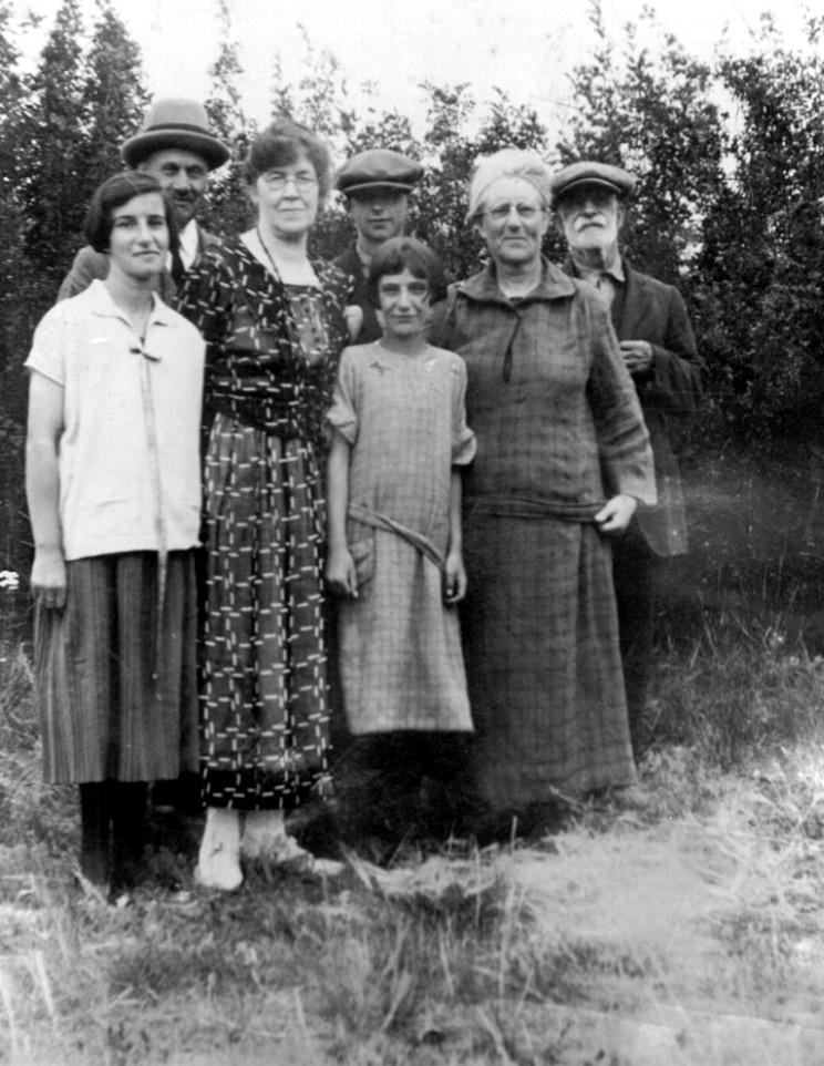 The Harrop Family in Balcarres Saskatchewan.