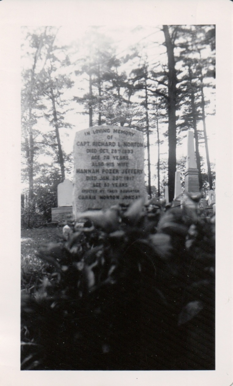 Norton headstone