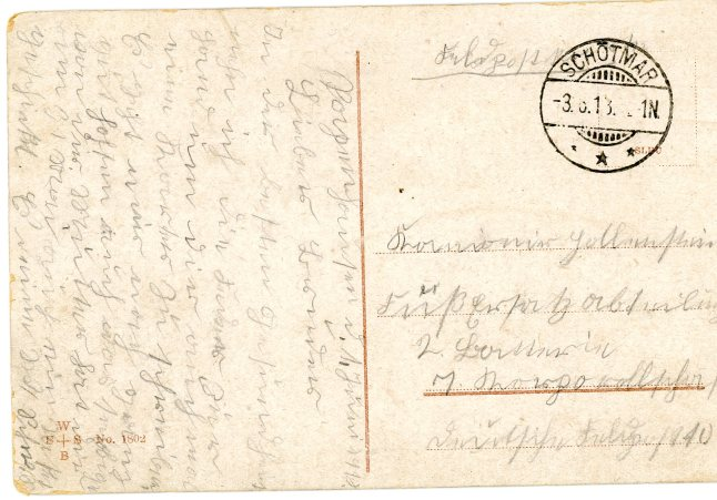 Dever, John M. Postcard - German pg.2