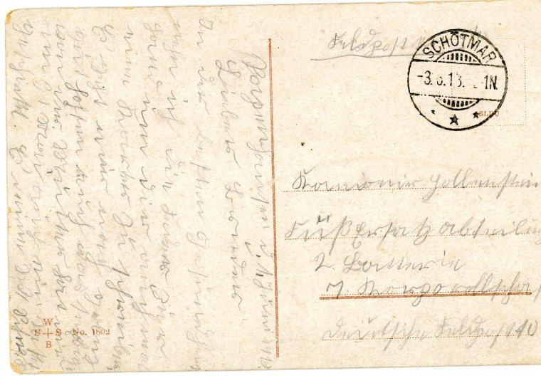 Dever, John M. Postcard - German pg.2