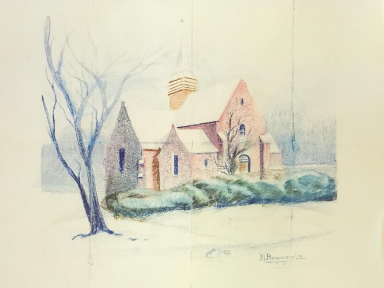 Dever John WWI drawing