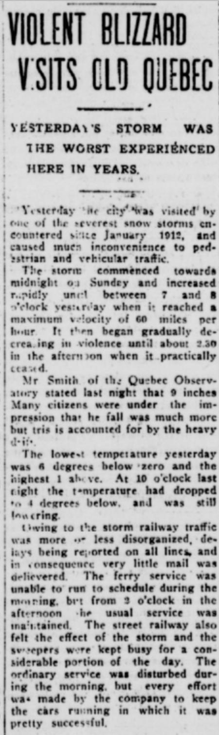 Jan 23, 1917 p4 Blizzard