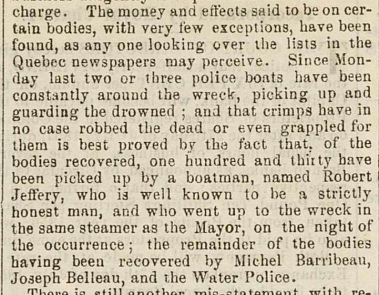 Robert A Jeffery The Montreal 1857