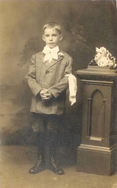 John McMahon, 1st communion