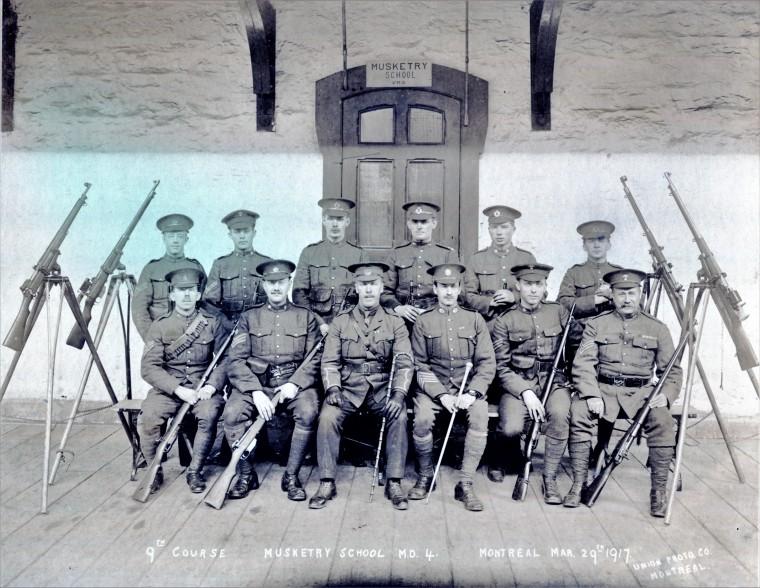 Musketry School 1917 Jordan