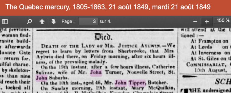 John Tipper d1849
